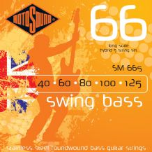 Rotosound SM665 Swing Bass Hybrid 5 String Set